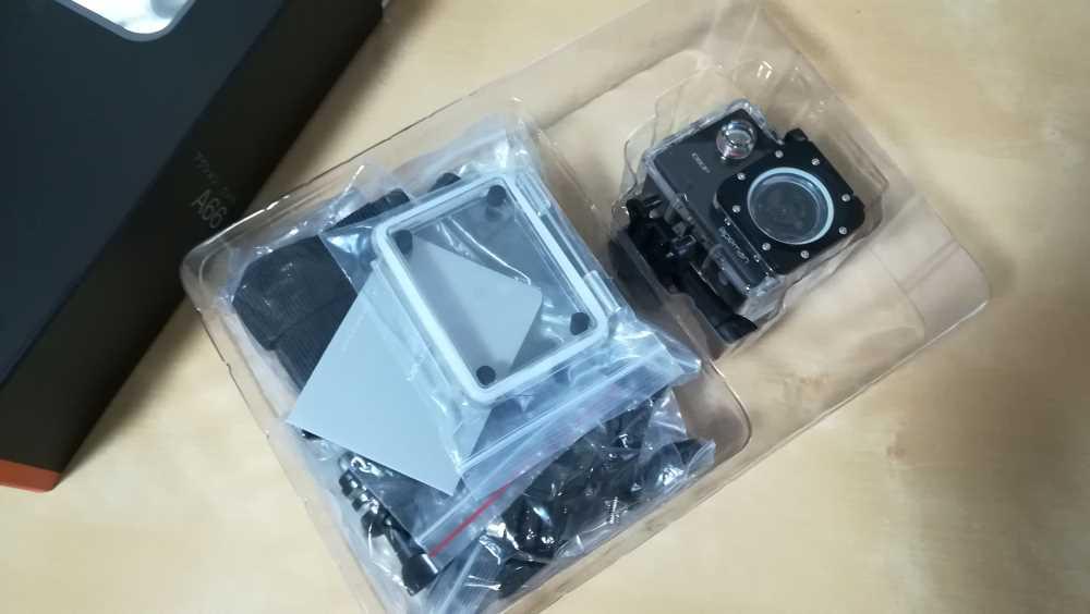 格安アクションカメラ「apeman A66」の購入レビュー|ST40PG